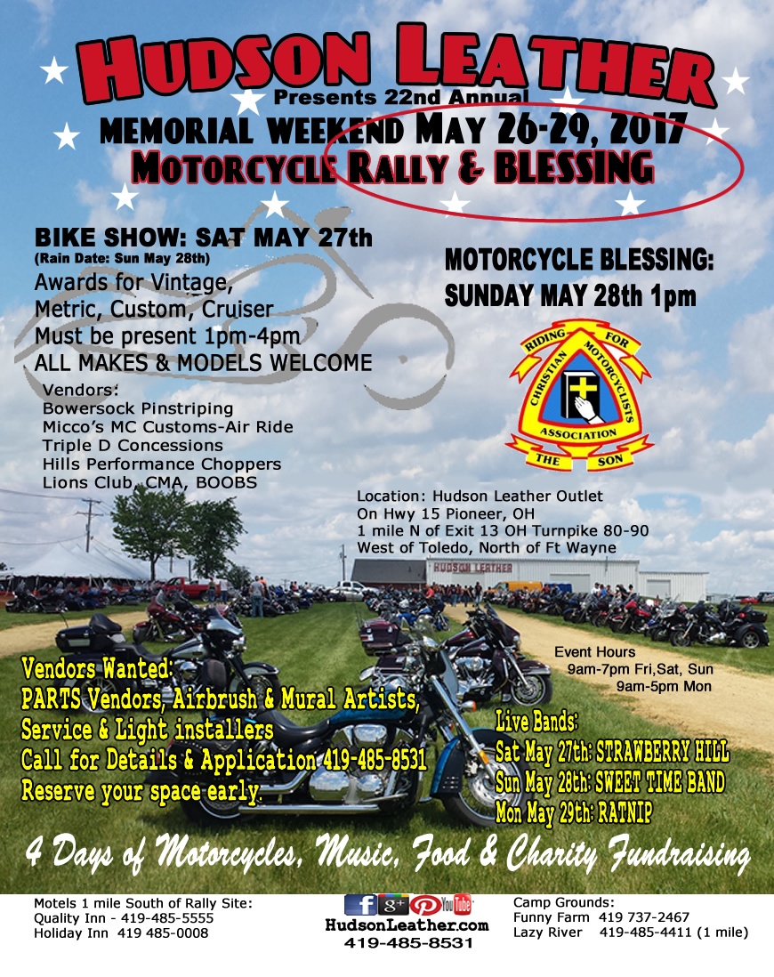 hudson-leather-motorcycle-rally-and-blessing-2017