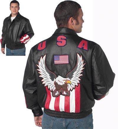 Leather clothing usa