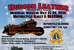Motorcycle Rally & Blessing 2018