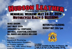 Memorial Weekend Rally & Blessing 2019