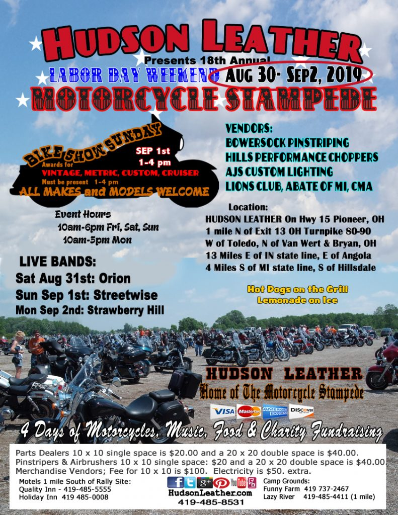 18th Annual Motorcycle Stampede.