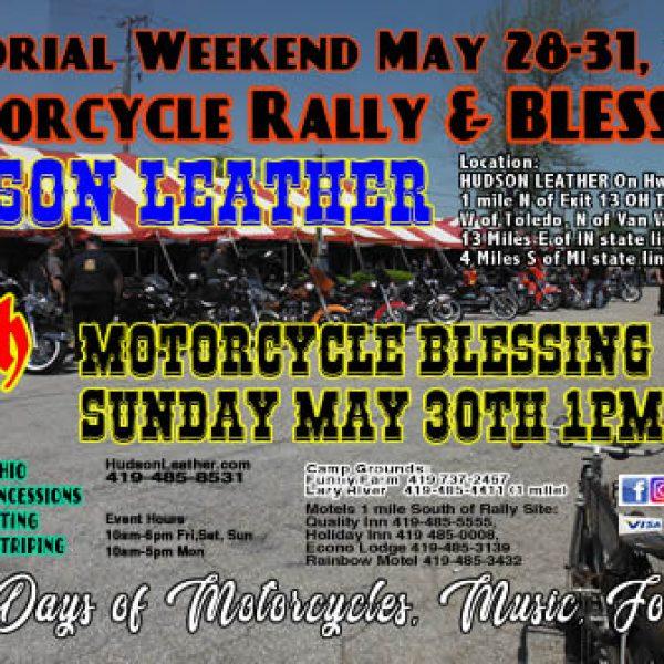 Memorial Weekend 2021 Motorcycle Rally & Blessing